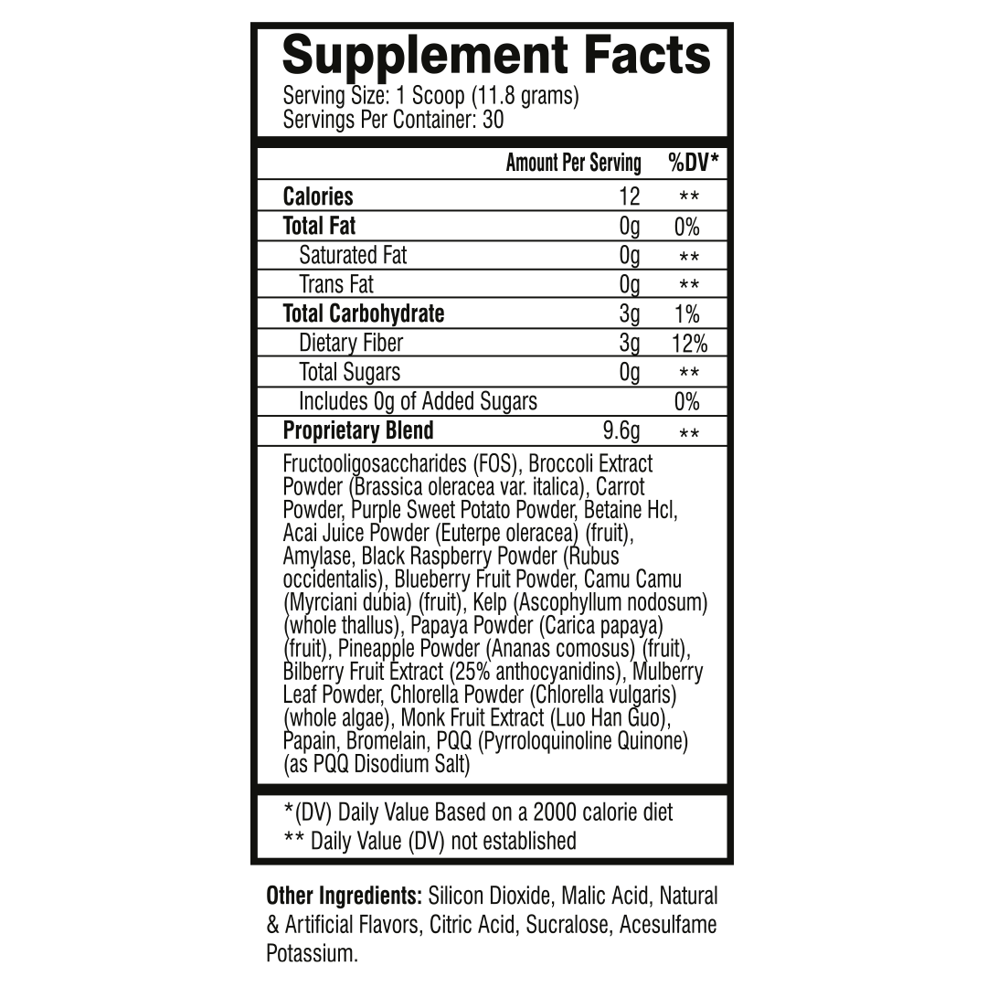 health supplement ingredients