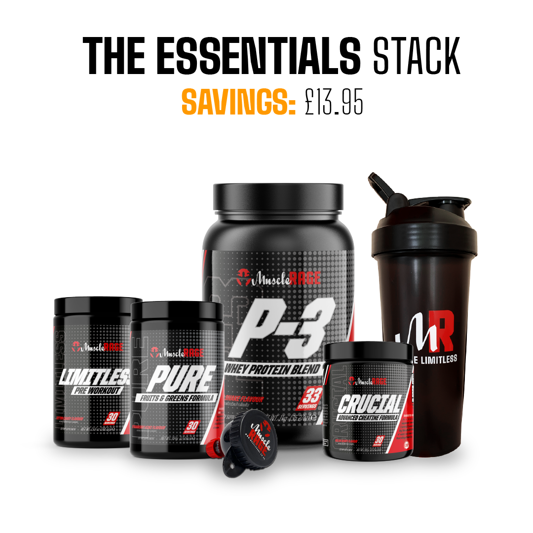 the essentials stack by muscle rage